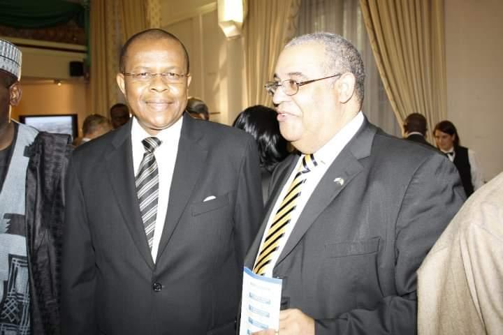 Dr Mark Abani & Amb Dozie Nwanna