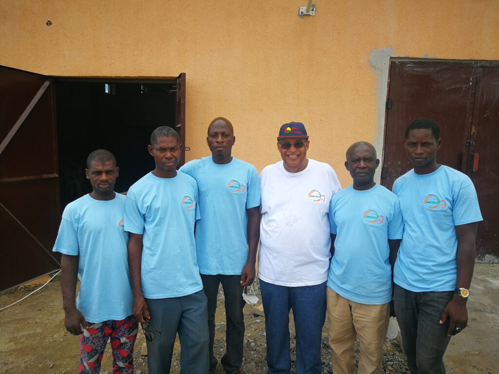 Dr Mark Abani & Farm Staff